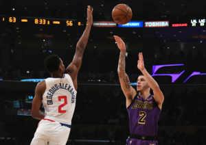 Shai Gilgeous-Alexander è una delle ottime scoperte della stagione dei Los Angeles Clippers