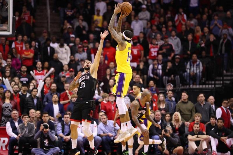 Brandon Ingram, Los Angeles Lakers vs Houston Rockets at Toyota Center