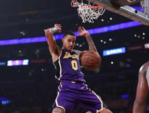 Kyle Kuzma, Los Angeles Lakers vs Detroit Pistons