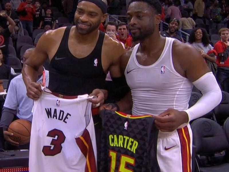 Wade e Vince Carter