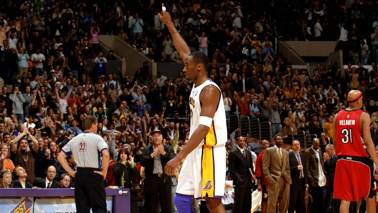 22 gennaio 2006, gli 81 di Kobe Bryant ai Toronto Raptors