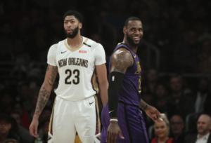 Anthony Davis e LeBron James sognano un futuro insieme in maglia Lakers