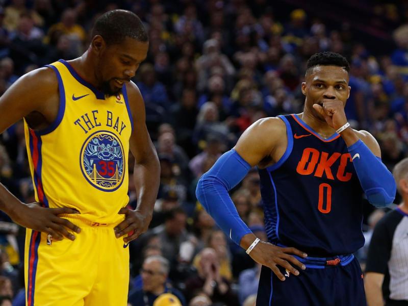 """Durant-Westbrook, KD attacca i giornalisti: """"Nella mia carriera non ho odiato nessuno"""""""