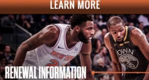 Mitchell Robinson e Kevin Durant nella campagna abbonamenti dei Knicks. Per Michael Jordan e Wilt Chamberlain non c'era abbastanza spazio
