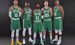 Il quintetto dei Celtics per il 2018/19