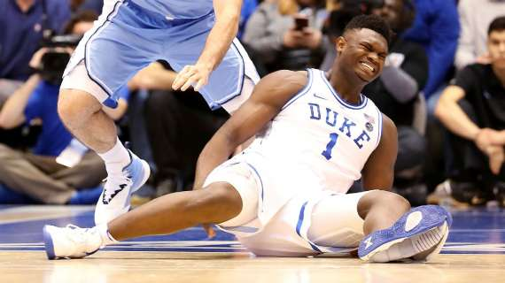 Infortunio Zion Williamson: pronto il rientro stanotte contro Syracuse