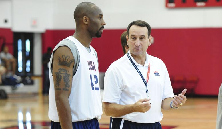 """Kobe-Coach K, retroscena da college: """"Per il reclutamento al college ha insistito tantissimo su di me"""""""