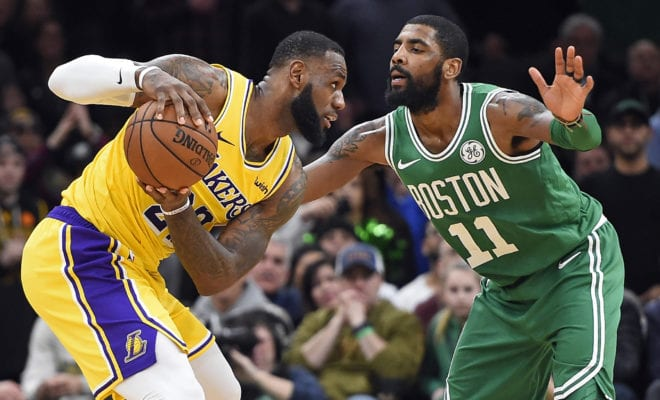 separation shoes eba00 a69e0 Three Points – Lakers, Celtics e Timberwolves – Il maxi-processo