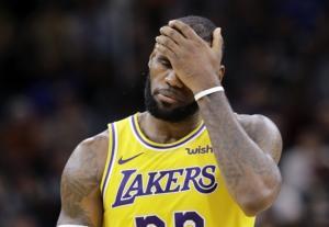 Per LeBron James, un 2018/19 da dimenticare