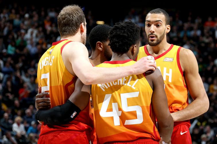"""Donovan Mitchell e gli Utah Jazz pronti alla battaglia: """"James Harden non ci fa paura"""""""