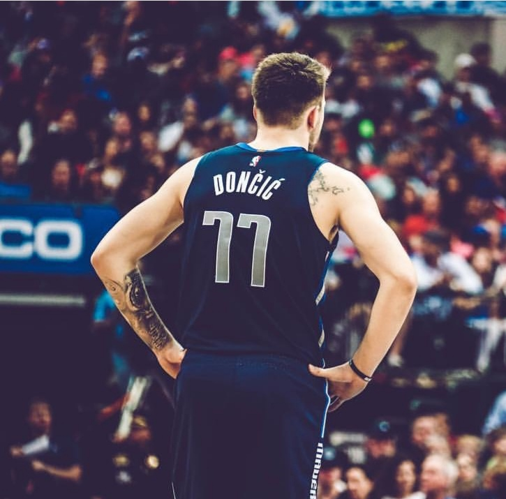 Luka Doncic Rookie dell'anno