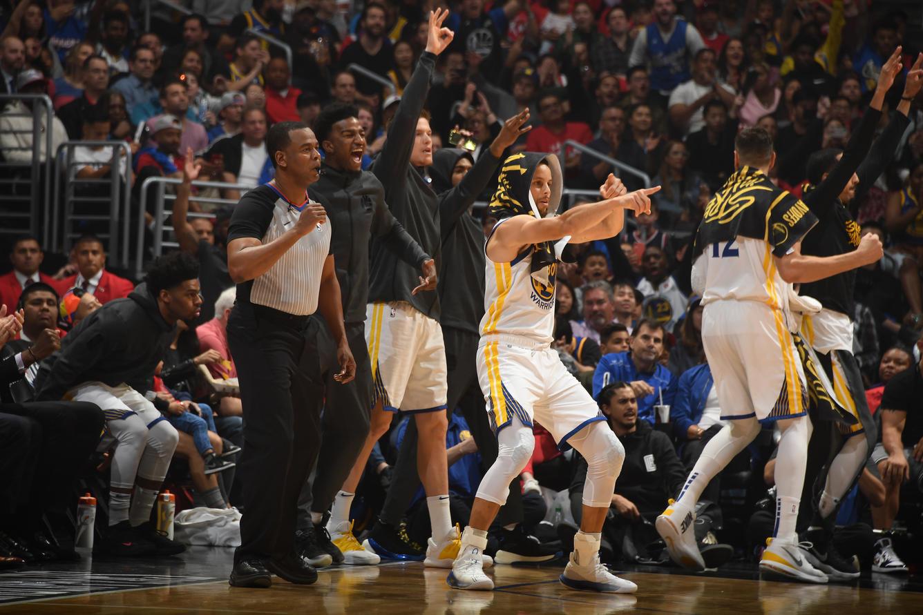"""Klay Thompson stende i Clippers e sfida i Rockets: """"Li abbiamo visti... non volevamo perdere tempo"""""""
