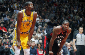 Kawhi Leonard e Kevin Durant, per ora i due MVP di questi playoff