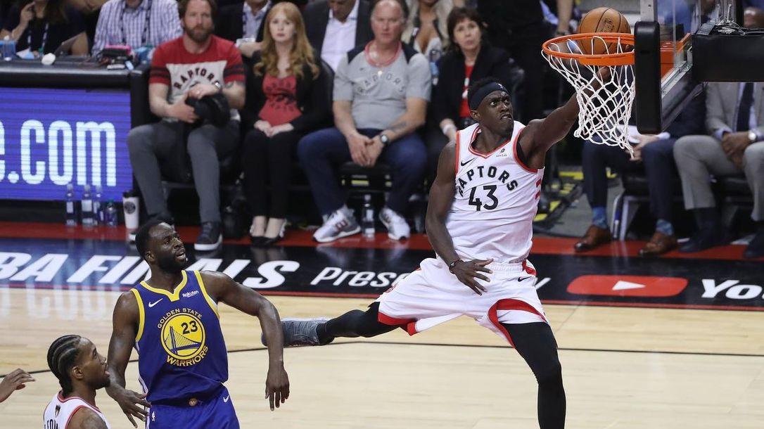 Raptors-Warriors gara 1: il vero ago della bilancia è stato Pascal Siakam