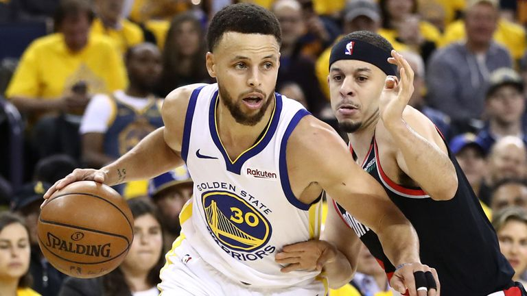 Warriors-Blazers, Steph Curry di nuovo letale dopo le secche di Houston