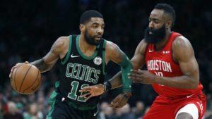 Per i Celtics di Kyrie Irving e i Rockets di James Harden, i playoff sono finiti prima del previsto