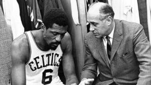 Bill Russell, scelto dai Celtics di Red Auerbach al draft 1956