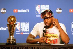 Kawhi Leonard, campione NBA e Finals MVP per la seconda volta