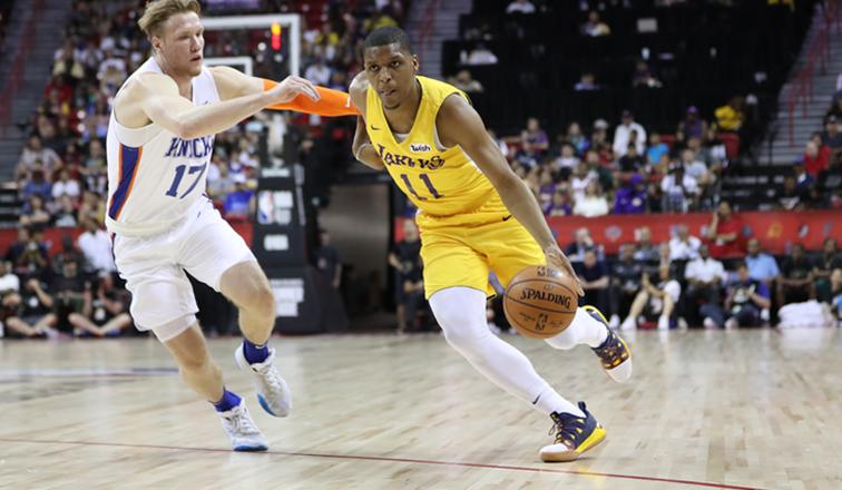 Zach Norvell Jr., New York Knicks vs Los Angeles Lakers