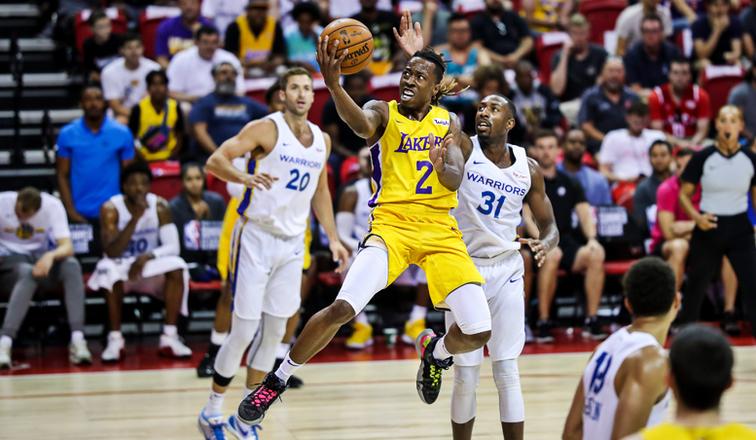 Jaron Johnson, Golden State Warriors vs Los Angeles Lakers
