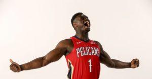Il futuro della NBA potrebbe appartenere ai New Orleans Pelicans di Zion Williamson
