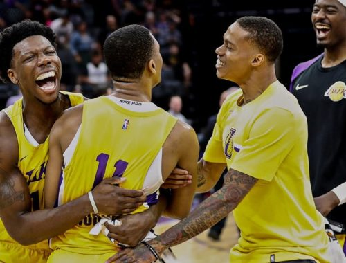 Zach Norvell Jr., Los Angeles Lakers vs Sacramento Kings