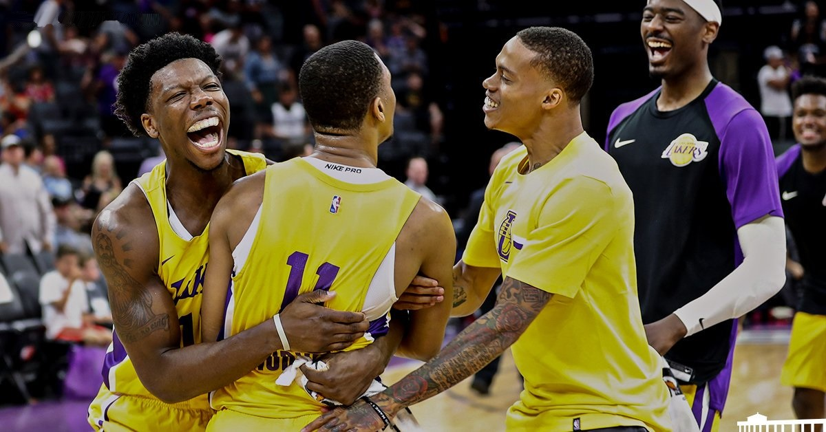 Zach Norvell Jr., Los Angeles Lakers vs Sacramento Kings