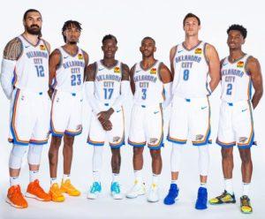 Il nucleo dei Thunder versione 2019/20
