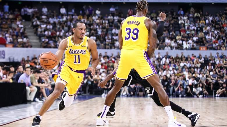 Lakers: Avery Bradley al rientro, in campo contro i Magic