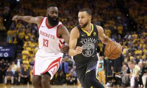 Grandi cambiamenti per i Rockets di James Harden e gli Warriors di Stephen Curry