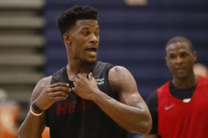 Jimmy Butler sta per incazzarsi di brutto