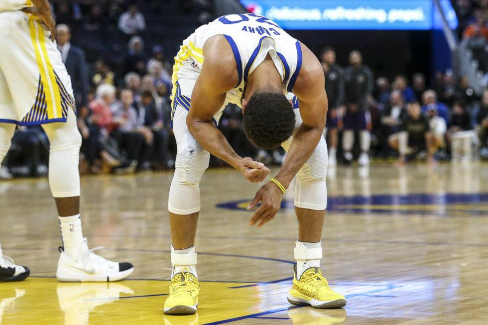 La rabbia di Stephen Curry, simbolo della Dinastia Warriors