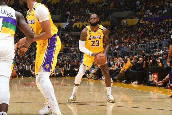 Lakers OK contro i Pelicans, un LeBron da 40 punti impressionato ...