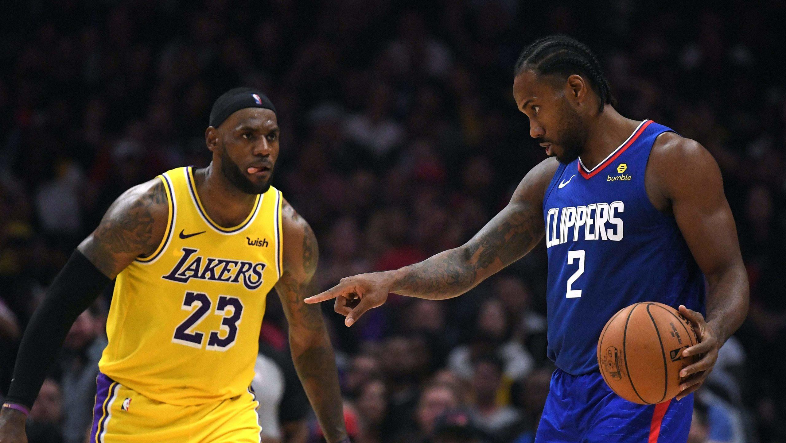 Lakers e Clippers partivano tra le favorite per il tiolo NBA 2019/20