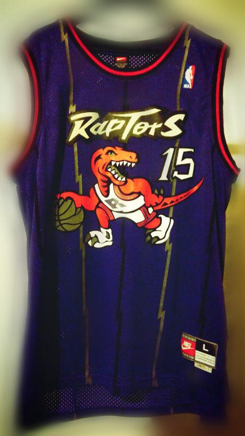 La Jersey di Vince Carter ai tempi dei Raptors