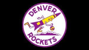 Il logo usato dai Denver Rockets dal 1972 al 1974