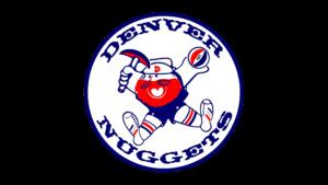 Il logo usato dai Denver Nuggets dal 1974 al 1976