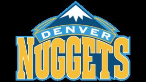 Il logo usato dai Denver Nuggets dal 2004 al 2008