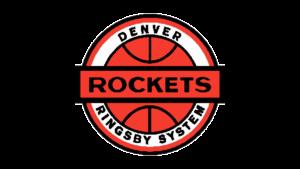 Il logo usato dai Denver Rockets dal 1968 al 1971