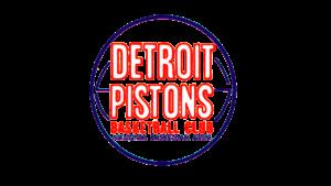 Il logo usato dai Detroit Pistons dal 1957 al 1971