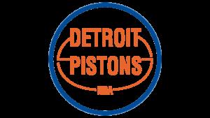 Il logo usato dai Detroit Pistons dal 1975 al 1979