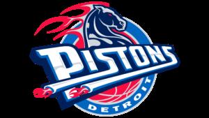 Il logo usato dai Detroit Pistons dal 2001 al 2005