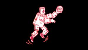 Il logo usato dai Fort Wayne Zollner Pistons dal 1941 al 1947