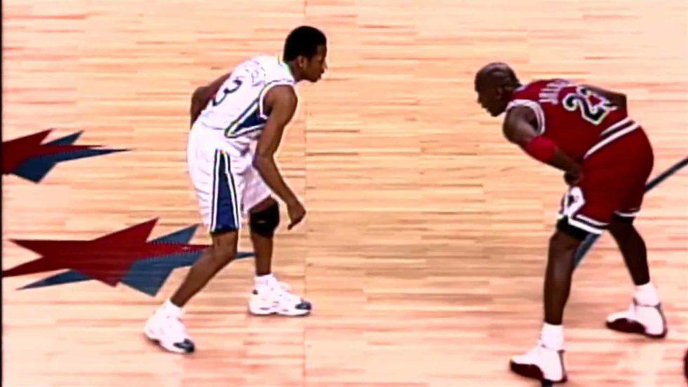 Allen Iverson vs Michael Jordan