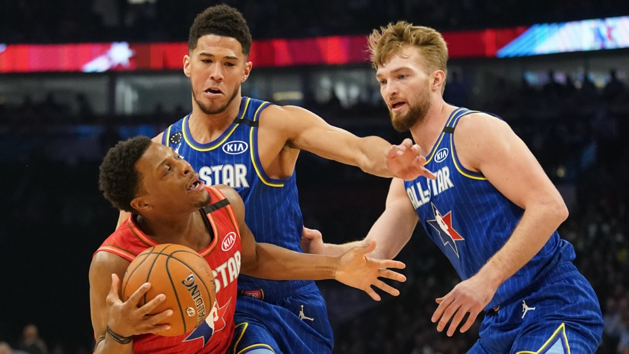 Devin Booker e Domantas Sabonis hanno debuttato all'All-Star Game nel 2019/20