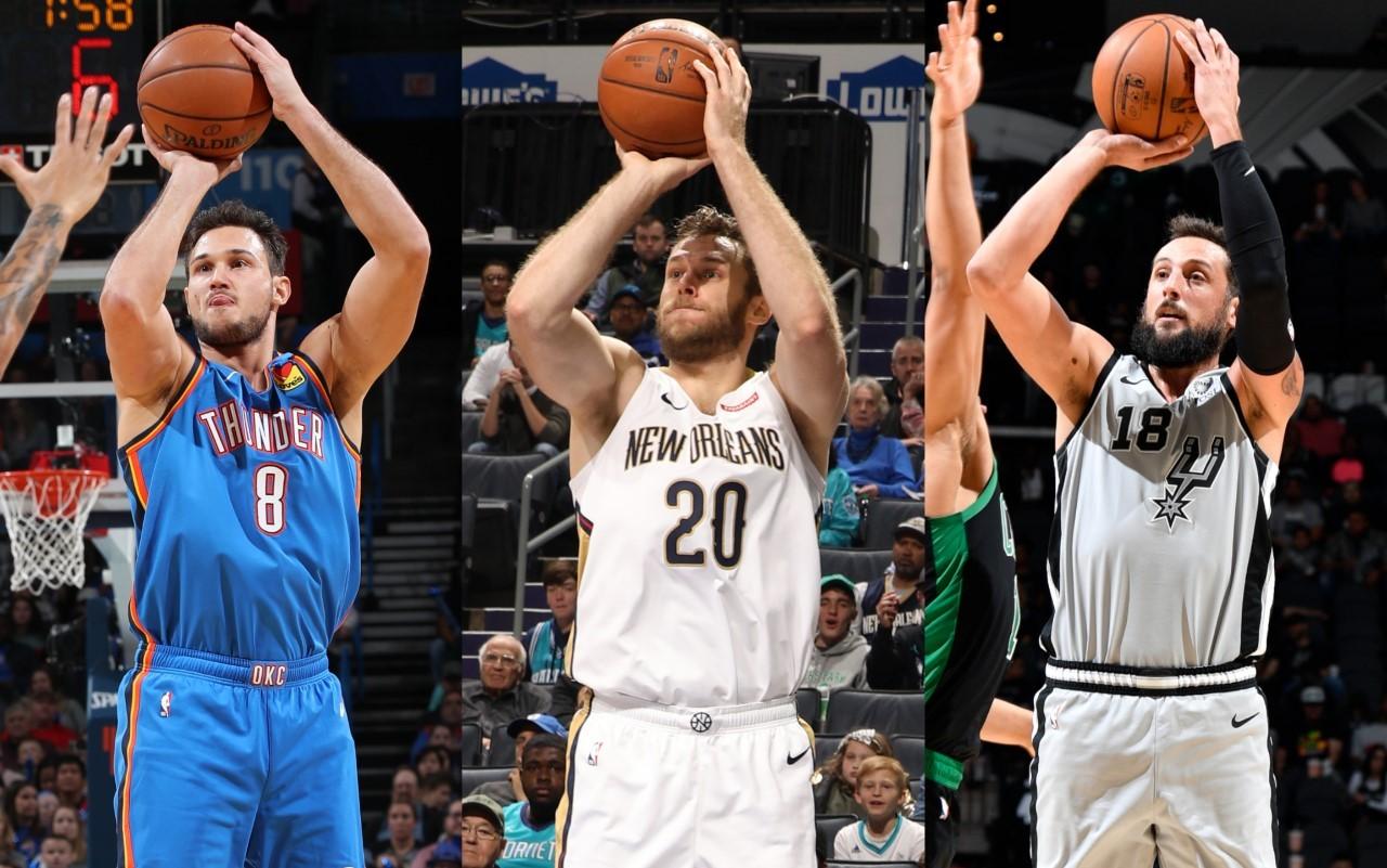 Nella stagione NBA 2019/20 c'erano anche tre giocatori italiani