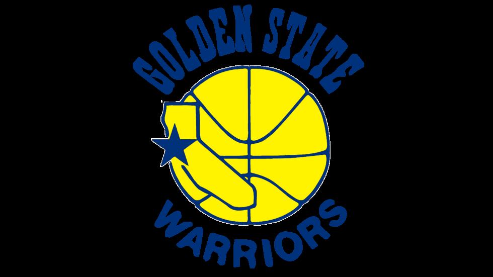 Il logo usato dai Golden State Warriors dal 1976 al 1988