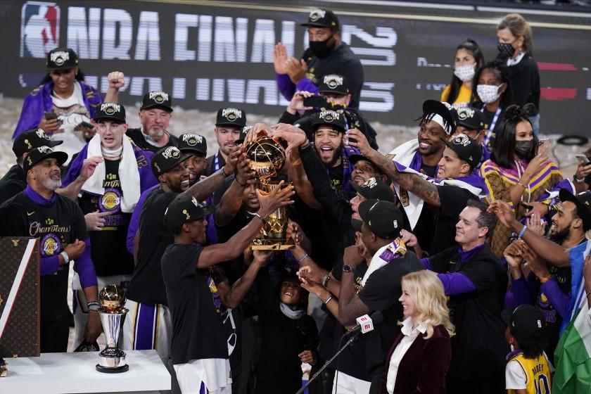 Lakers campioni NBA