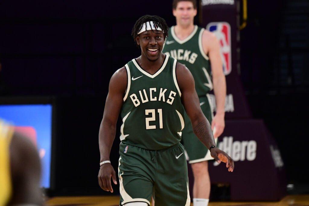 Jrue Holiday, play dei Milwaukee Bucks